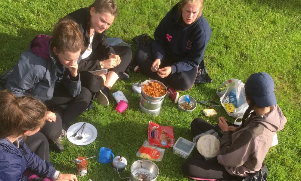 BRONZE DofE GROUP EXPEDITION PROGRAMME